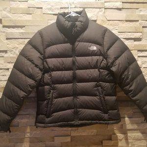 North Face Womens Large Black Nuptse Puffer Jacket